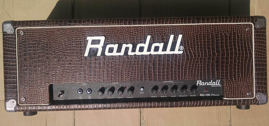 Front View Completed Randall RG100 Original Refurbish