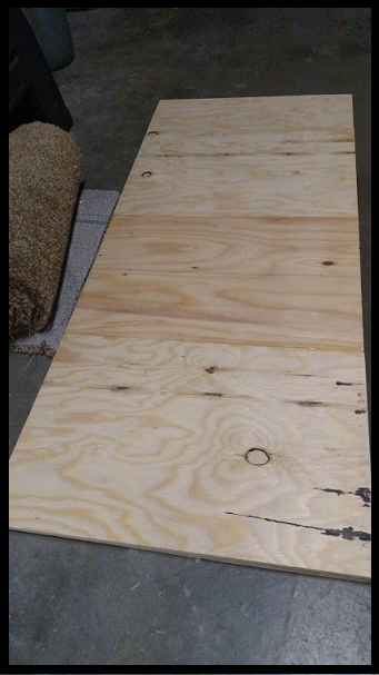 Plywood Slab for Instrument Pad