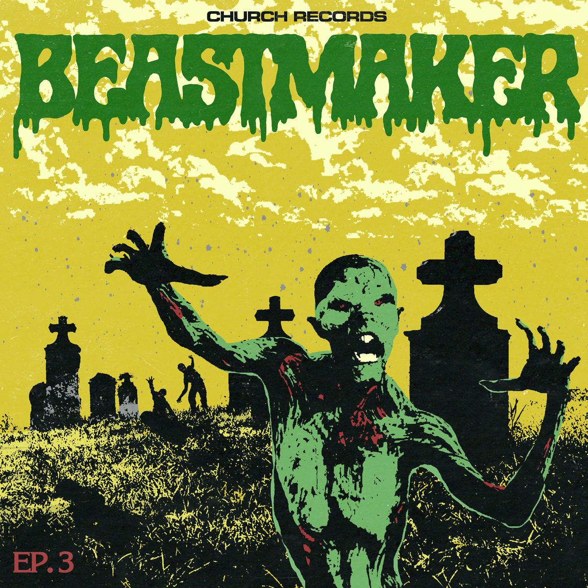 Beastmaker EP-3 Fire and Brimstone Soulless Corpses Satans Fire Of Beyond
