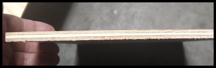 Demostration of Bowing in Plywood