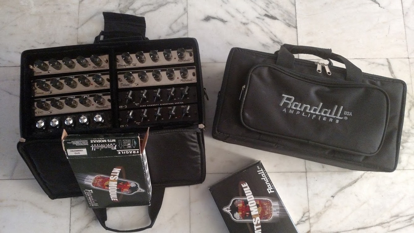 Randall Synergy Egnater MTS modular preamps