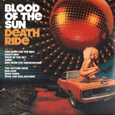 Blood of the Sun's album cover Death Ride