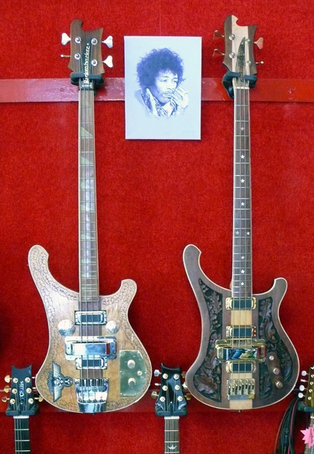 Lemmy's Main Instruments after some TLC
