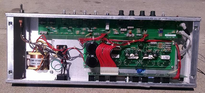 Randall RG-100 Classic Head.  Electronics Check Out!