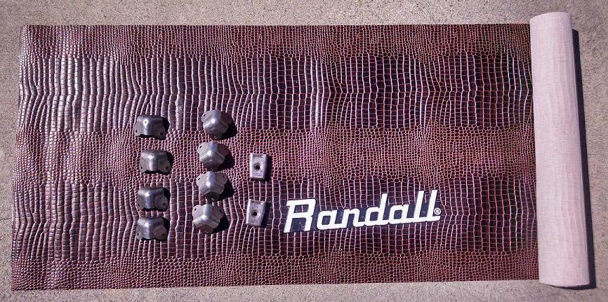 Randall RG-100 Classic Head.  New fabric, reworked hardware
