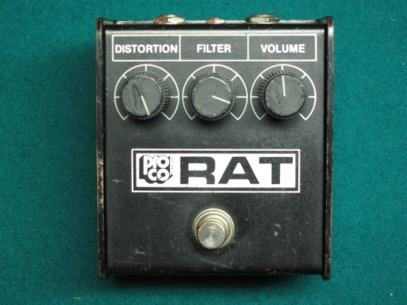 1984 Whiteface ProCo Rat Pedal
