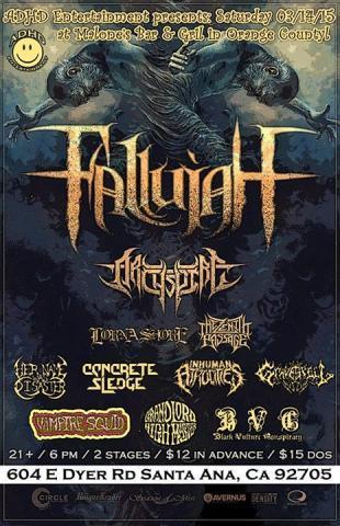 Show: Fallujah in Santa Ana