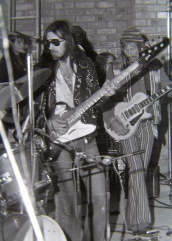 Lemmy's Gibson Thunderbird, Hawkwind, circa 1971