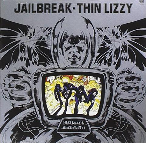 Jailbreak Album Cover Thin Lizzy Liner Notes 1976
