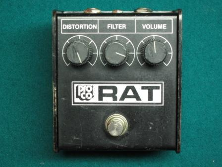 1984 Whiteface ProCo Rat Pedal